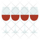 Passover Four Wine Icon