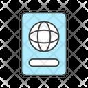 Passpor Passport Passport Book Icon