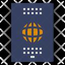Passport Immigration Identity Icon