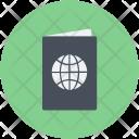 Passport Travel Id Icon