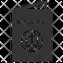 Passport International Passport Passenger Icon