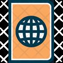 Passport Pass International Passport Icon