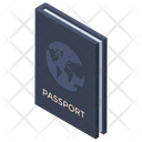 Passport Identification Of Country Authorization Icon