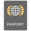 Passport International Identity Icon