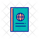 Passport International Passport Passport Book Icon