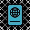 Passport Boarding Pass Passport Book Icon