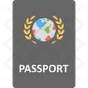 Identity Card International Passport International Travel Icon
