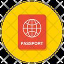 Passport Visa Travel Icon