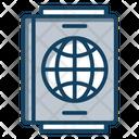 Visa Passport Travel Permit Icon