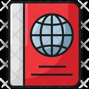 Passport Passport Attestation Travel Icon