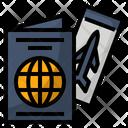 Holidays International Passport Icon