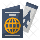 Holidays International Passport Icon