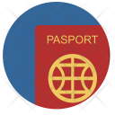 Person Citizen Passport Icon