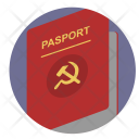 Communism Passport Person Icon