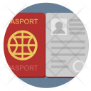 Open Passport Identity Icon