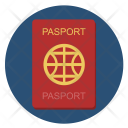 Passport Citizen Country Icon