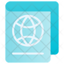 Passport Refugee Permission Icon