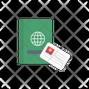 Passport Visa Card Icon