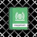 Passport Ticket Travel Icon
