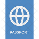 Logistics Delivery Passport Icon