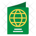 Passport Identification Book Icon
