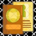 Passport Identification International Passport Icon