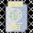 Passport Tourist Visa Icon