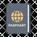 Passport Identity Travel Icon