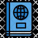 Passport Identity Identification Icon