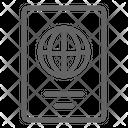 Passport Document Identity Icon