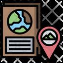 Passport Transportation Identification Icon