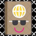 Holiday Passport Summer Icon