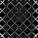 Travel Visa Id Icon