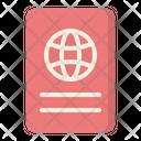 Passport Travel Photography Icon