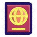 Passport Travel Traveling Icon