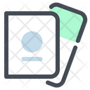 Passport Boarding Pass Icon
