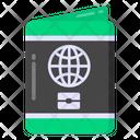 Travel Permit Passport Visa Icon