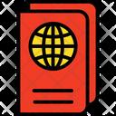 Passport Travel Book Travel Pass Icon