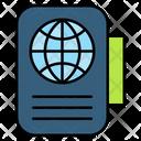Passport Document Id Icon