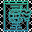 Passport Nationality Flag Icon