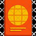 Passport Travel Document Icon