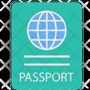 Passport Identity Immigration Icon