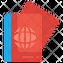 Document Passport Tourist Icon