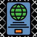 Passport Immigration Travel Icon
