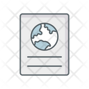 Passport Id Proof Visa Icon