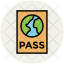 Passport World Visa Icon