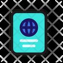 Passport Document Travel Icon