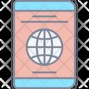 Passport Visa Id Icon