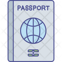 Business Tour Inter Country Travelling International Passport Icon