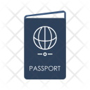 Passport Visa Vacation Icon